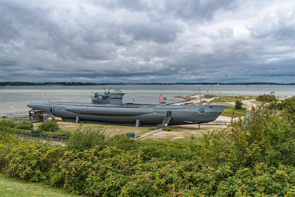 U995 War Memorial, Kiel/Laboe, Baltic Sea