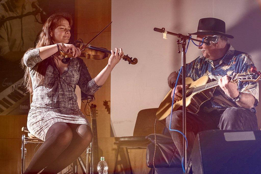 Dave Peabody & Regina Mudrich